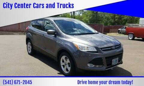 2013 Ford Escape for sale at City Center Cars and Trucks in Roseburg OR