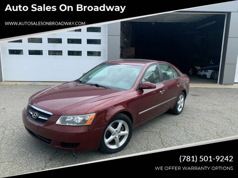 2008 Hyundai Sonata for sale at Auto Sales on Broadway in Norwood MA