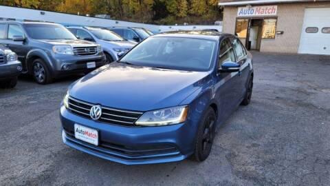 2017 Volkswagen Jetta for sale at Auto Match in Waterbury CT