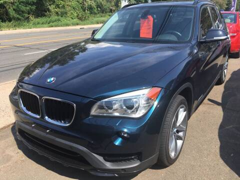 2015 BMW X1 for sale at MELILLO MOTORS INC in North Haven CT