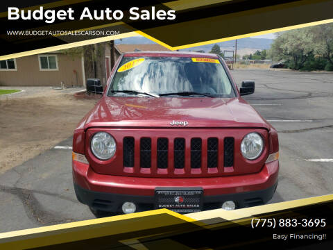 2017 Jeep Patriot for sale at Budget Auto Sales in Carson City NV