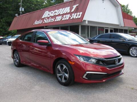 2020 Honda Civic for sale at Discount Auto Sales in Pell City AL