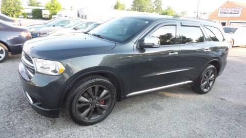 2011 Dodge Durango for sale at Unlimited Auto Sales in Upper Marlboro MD