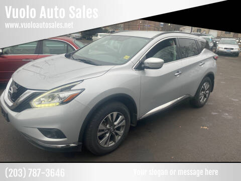 2015 Nissan Murano for sale at Vuolo Auto Sales in North Haven CT