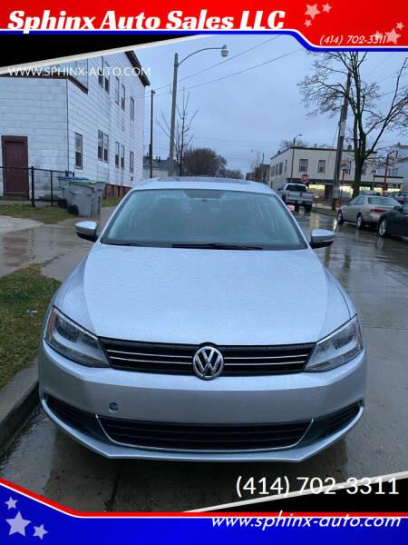 2013 Volkswagen Jetta for sale at Sphinx Auto Sales LLC in Milwaukee WI