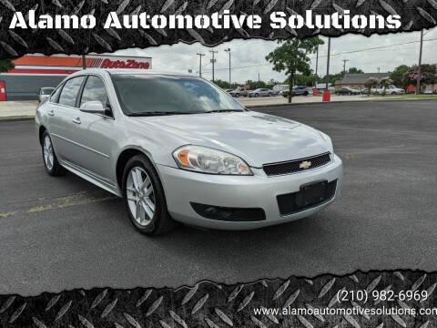 2012 Chevrolet Impala for sale at Alamo Automotive Solutions in San Antonio TX