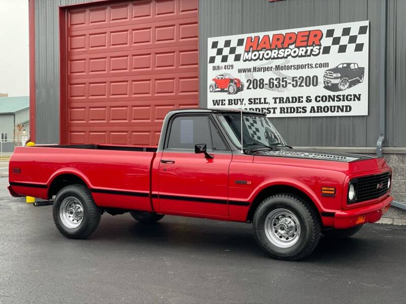 1972 Chevrolet C/K 20 Series for sale at Harper Motorsports-Vehicles in Post Falls ID
