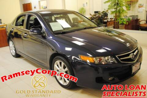 2008 Acura TSX for sale at Ramsey Corp. in West Milford NJ