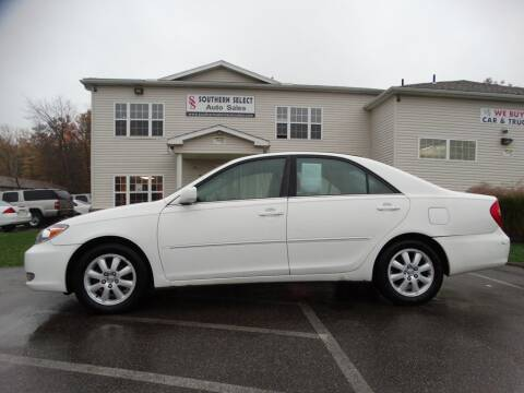 2003 Toyota Camry for sale at SOUTHERN SELECT AUTO SALES in Medina OH