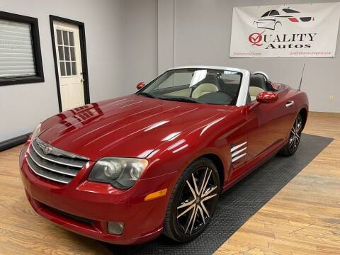 2005 Chrysler Crossfire for sale at Quality Autos in Marietta GA