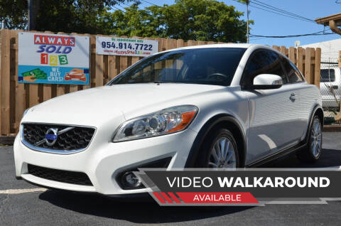 2012 Volvo C30 for sale at ALWAYSSOLD123 INC in Fort Lauderdale FL