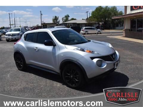 2013 Nissan JUKE for sale at Carlisle Motors in Lubbock TX