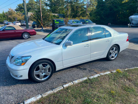 2006 Lexus LS 430 for sale at TOP OF THE LINE AUTO SALES in Fayetteville NC