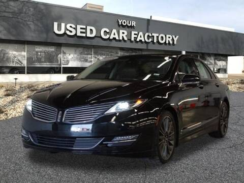 2015 Lincoln MKZ for sale at JOELSCARZ.COM in Flushing MI