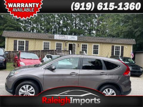 2013 Honda CR-V for sale at Raleigh Imports in Raleigh NC