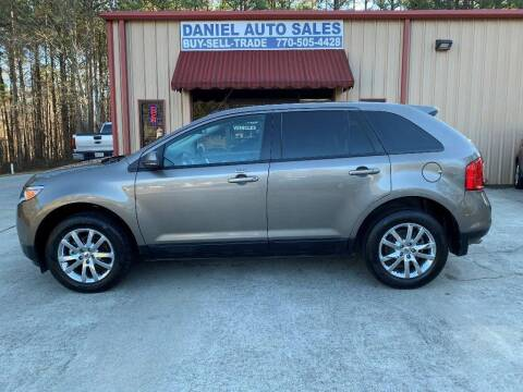 2013 Ford Edge for sale at Daniel Used Auto Sales in Dallas GA