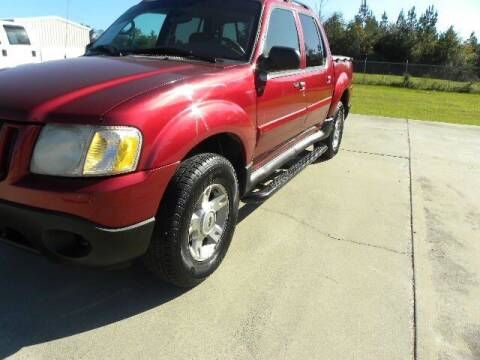 2004 Ford Explorer Sport Trac for sale at VANN'S AUTO MART in Jesup GA