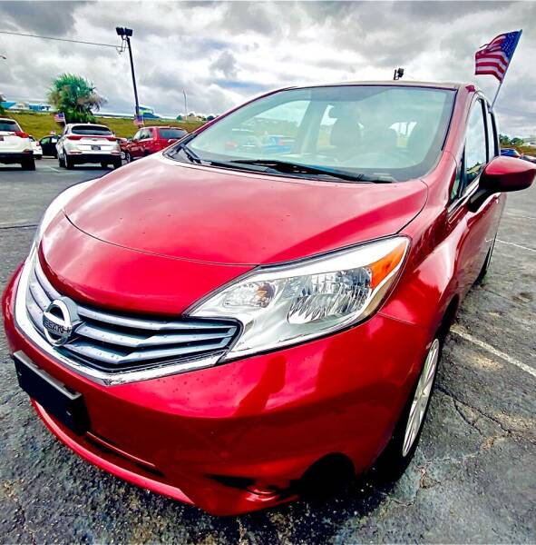 2016 Nissan Versa Note for sale at Sun Coast City Auto Sales in Mobile AL