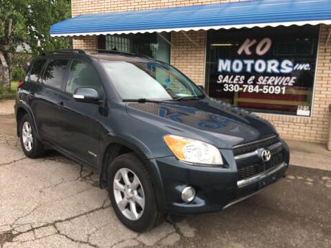 2011 Toyota RAV4 for sale at K O Motors in Akron OH