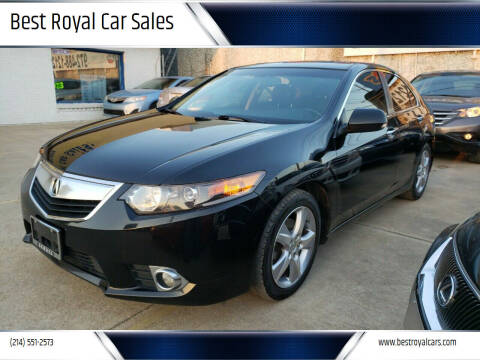 2013 Acura TSX for sale at Best Royal Car Sales in Dallas TX