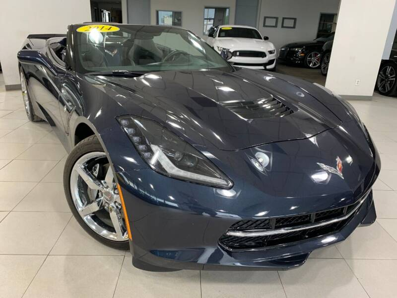 2014 Chevrolet Corvette for sale at Auto Mall of Springfield in Springfield IL