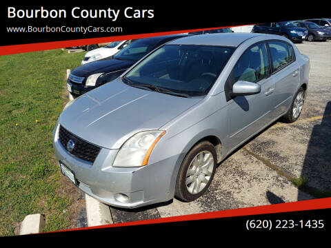 2008 Nissan Sentra for sale at Bourbon County Cars in Fort Scott KS