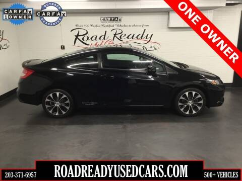 2013 Honda Civic for sale at Road Ready Used Cars in Ansonia CT