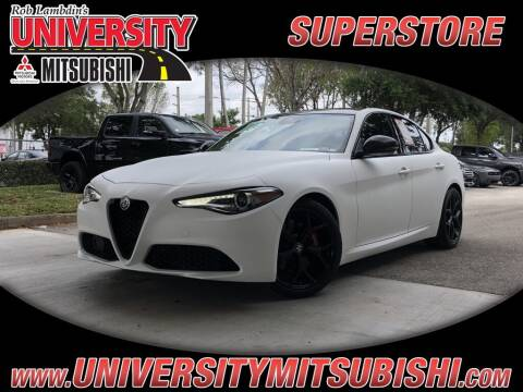 2020 Alfa Romeo Giulia for sale at FLORIDA DIESEL CENTER in Davie FL