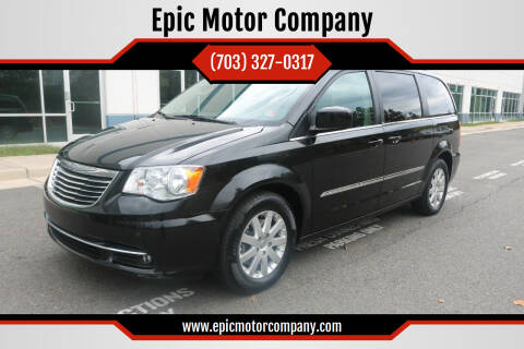2014 Chrysler Town and Country for sale at Epic Motor Company in Chantilly VA