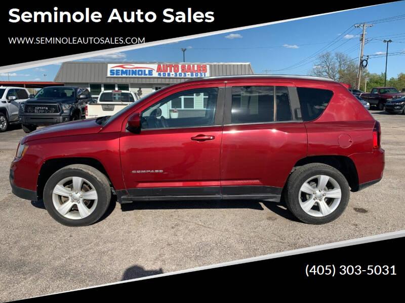 2014 Jeep Compass for sale at Seminole Auto Sales in Seminole OK