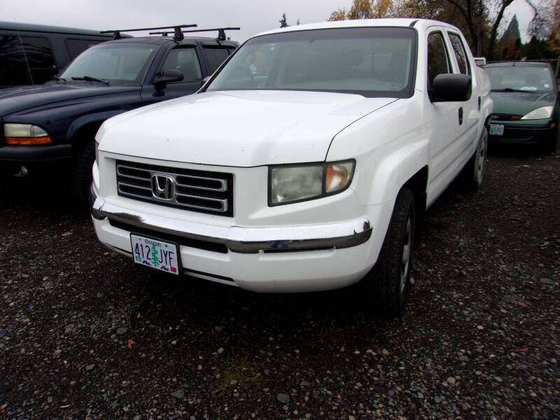 2006 Honda Ridgeline for sale at PJ's Auto Center in Salem OR
