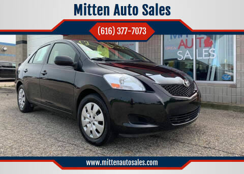 2012 Toyota Yaris for sale at Mitten Auto Sales in Holland MI