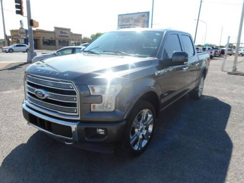 2017 Ford F-150 for sale at AUGE'S SALES AND SERVICE in Belen NM