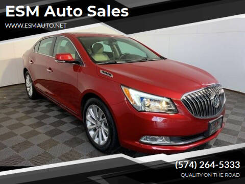 2014 Buick LaCrosse for sale at ESM Auto Sales in Elkhart IN