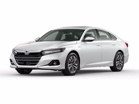 2021 Honda Accord Hybrid for sale at MILLENNIUM HONDA in Hempstead NY