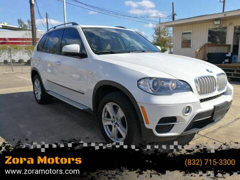 2011 BMW X5 for sale at Zora Motors in Houston TX