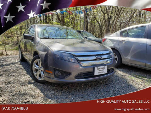 2012 Ford Fusion for sale at High Quality Auto Sales LLC in Bloomingdale NJ