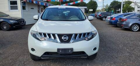 2009 Nissan Murano for sale at Russo's Auto Exchange LLC in Enfield CT