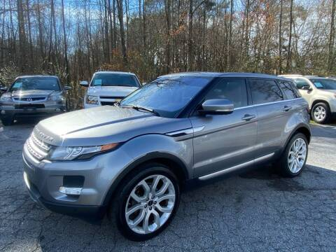 2012 Land Rover Range Rover Evoque for sale at Car Online in Roswell GA
