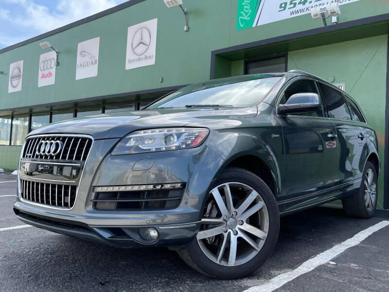2013 Audi Q7 for sale in Oakland Park, FL