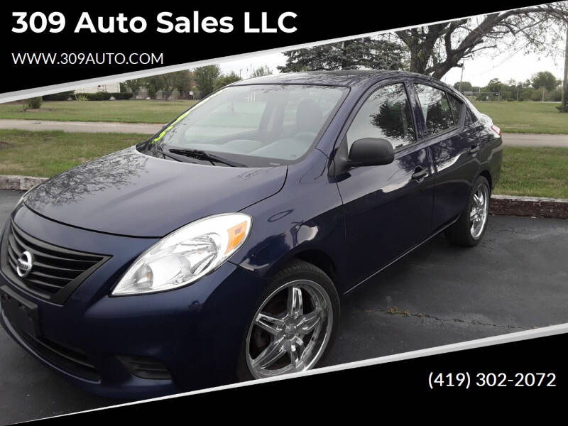 2012 Nissan Versa for sale at 309 Auto Sales LLC in Harrod OH