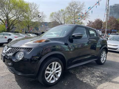 2016 Nissan JUKE for sale at JOANKA AUTO SALES in Newark NJ