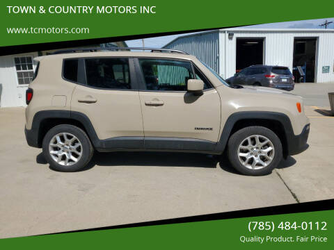 2016 Jeep Renegade for sale at TOWN & COUNTRY MOTORS INC in Meriden KS