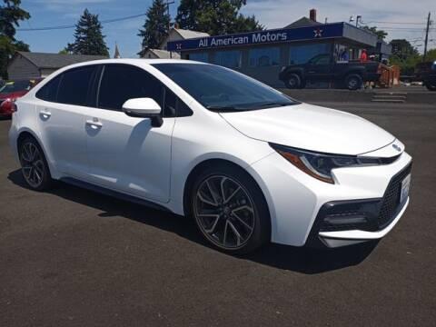 2021 Toyota Corolla for sale at All American Motors in Tacoma WA