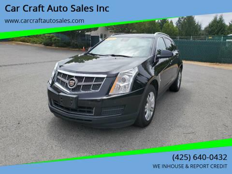 2012 Cadillac SRX for sale at Car Craft Auto Sales Inc in Lynnwood WA