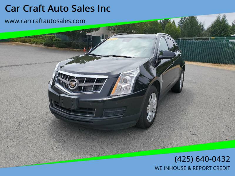 2012 Cadillac SRX for sale in Lynnwood, WA