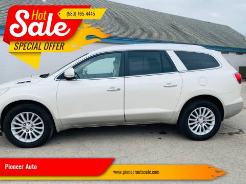 2011 Buick Enclave for sale at Pioneer Auto in Ponca City OK