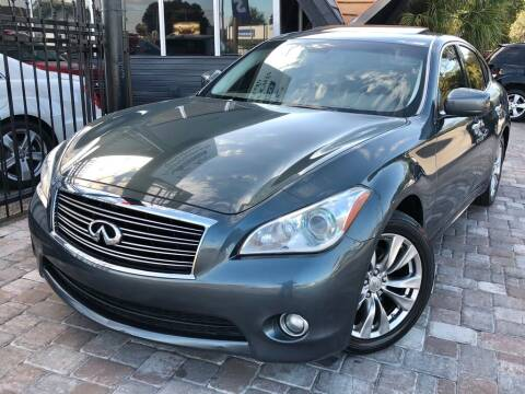 2012 Infiniti M37 for sale at Unique Motors of Tampa in Tampa FL