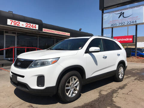 2015 Kia Sorento for sale at NORRIS AUTO SALES in Oklahoma City OK