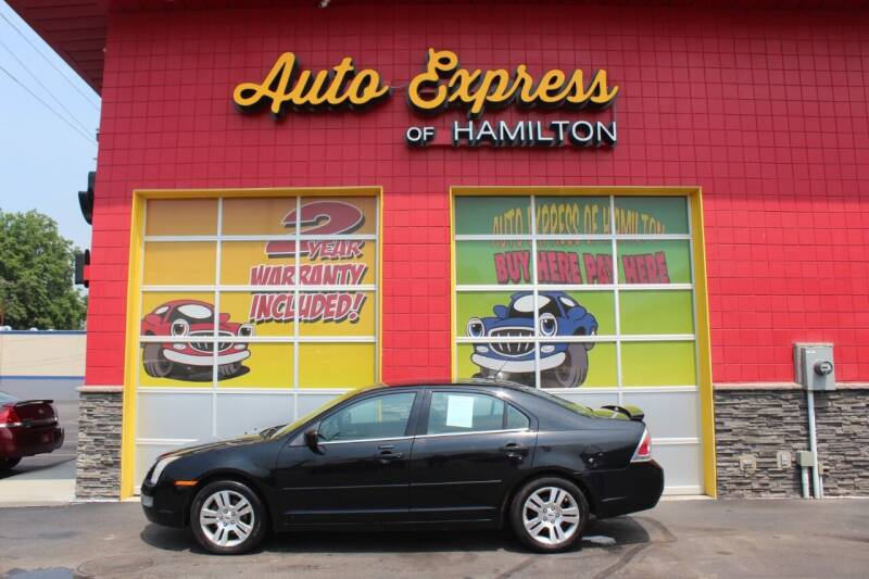 2008 Ford Fusion for sale at AUTO EXPRESS OF HAMILTON LLC in Hamilton OH
